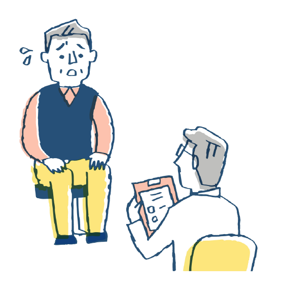 糖尿病患者と医師